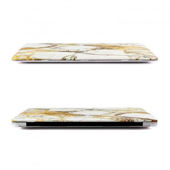 Macbook Pro Kılıf 13İnc Hardcase A1706 A1708 A1989 A2159 A2251 A2289 A2338 Kılıf Mermer