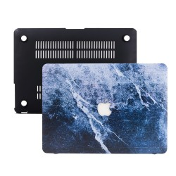 Macbook Pro Kılıf 13İnc Hardcase A1706 A1708 A1989 A2159 A2251 A2289 A2338 Kılıf Mermer09