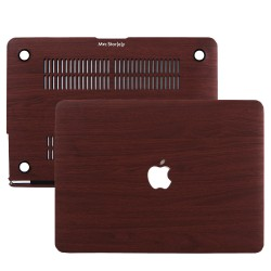MacBook Pro Kılıf 13inc HardCase Touch Bar A1706 A1708 A1989 A2159 A2251 A2289 A2338 Kılıf Wood01