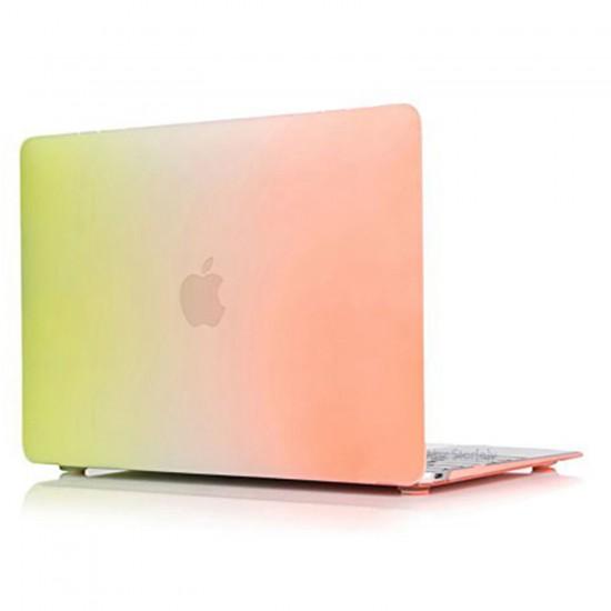 MacBook Pro Kılıf 15inc HardCase A1286 2008/2012 Uyumlu Koruyucu Kılıf Rainbow