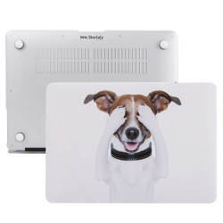 MacBook Pro Kılıf 15inc HardCase Touch Bar A1707 A1990 Uyumlu Koruyucu Kılıf Dog01NL