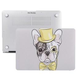 MacBook Pro Kılıf 15inc HardCase Touch Bar A1707 A1990 Uyumlu Koruyucu Kılıf Dog02NL