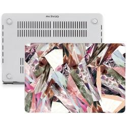 MacBook Pro Kılıf 13inc HardCase A1706 A1708 A1989 A2159 2016/2019 Uyumlu Koruyucu Kılıf Mermer06NL