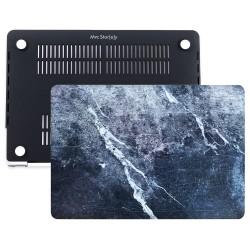 MacBook Pro Kılıf 13inc HardCase A1706 A1708 A1989 A2159 2016/2019 Uyumlu Koruyucu Kılıf Mermer09NL
