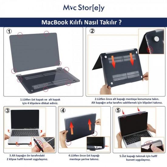 MacBook Pro Kılıf 13inc HardCase A1706 A1708 A1989 A2159 2016/2019 Uyumlu Koruyucu Kılıf Paint01NL