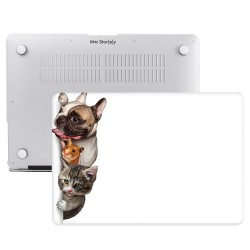 MacBook Pro Kılıf 15inc HardCase Touch Bar A1707 A1990 Uyumlu Koruyucu Kılıf Animal01NL
