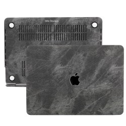 MacBook Pro Kılıf 13inc HardCase Touch Bar A1706 A1708 A1989 A2159 A2251 A2289 A2338 Kılıf Fabric01