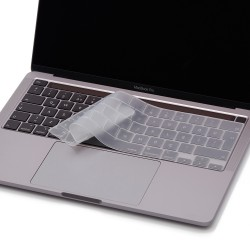Laptop MacBook Pro TouchBar Klavye Koruyucu 13inc A2251 A2289 A2338 16inc A2141 Türkçe Baskılı