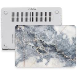 MacBook Pro Retina Kılıf 13inc HardCase A1425 A1502 2015/2015 Koruyucu Kılıf Mermer07NL