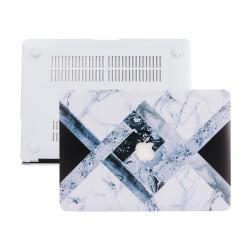 MacBook Pro Retina Kılıf 13inc HardCase A1425 A1502 2015/2015 Koruyucu Kılıf Mermer09