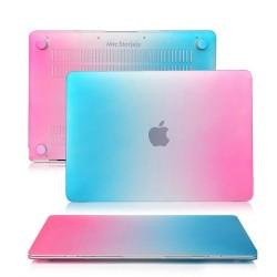 MacBook Retina Kılıf 12inc HardCase A1534 2015/2017 Uyumlu Koruyucu Kılıf Rainbow