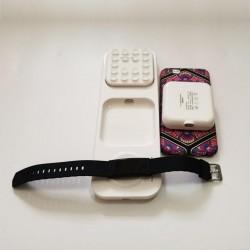 Powerbank wireless taşınabilir iPhone Samsung Huawei Kablosuz Şarj Aleti Airpods AirBuds Şarj Standı