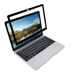 MacBook Air Pro 13inc Çerçeveli Ekran Koruyucu Hava Kabarcığı Bırakmaz A1708 A1706 A1989 A2159 A1932