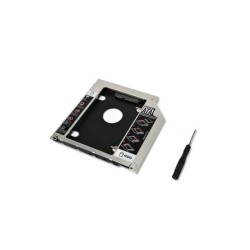Second HDD SSD Sabit Disk Sürücü Caddy for 9.5mm CD / DVD-ROM MacBook Pro A1278 A1286 A1297