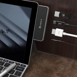 Surface Go Adaptör HDMI Çevirici USB Hup Çoklayıcı Çoğaltıcı 3.5MM Audio Çevrici