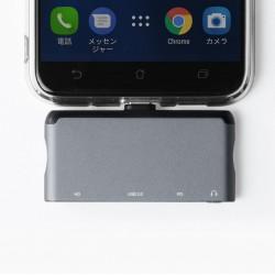 Type-C Çevirici HDMI USB Çoklayıcı Surface Pro İpad Pro USB-C Çoklayıcı 3.5mm Kulaklık Adaptörü