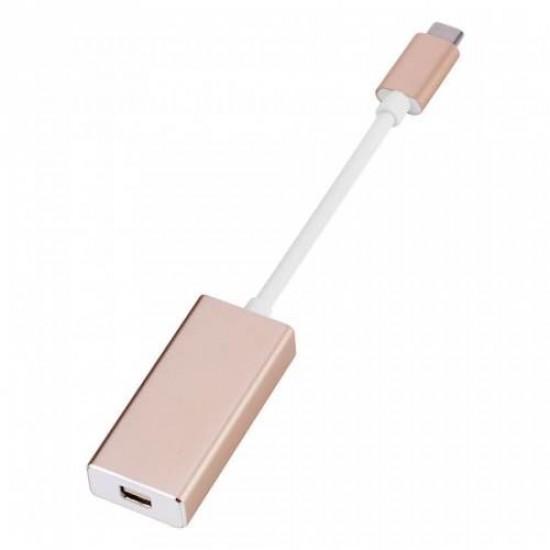 Type-C Çevirici Mini DisplayPort Dönüştürücü Adaptörü