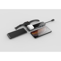 Type-C HDMI Dönüştürücü Kablosuz Şarj Aleti Watch AirPods qi Wireless Charger 4K Full HD