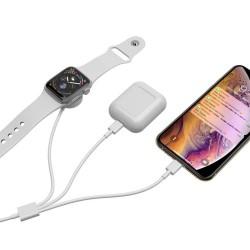 Type-C Şarj Aleti Miknatıslı Şarj Aleti İphone AirPods İpad Lightning Şarj Kablosu USB