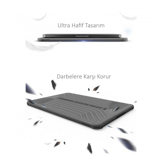 WIWU Laptop Notebook Çantası MacBook Air 2019 2020 A1932 A2179 A2337 Darbe Emici Kılıf