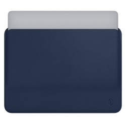 Wiwu MacBook Pro Air Retina Çanta Koruyucu Kese Zarf Kılıf 13.3 inç Vegan Deri Sleevebag Skin Pro