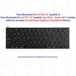 """Yeni MacBook A1706 13"""" 2016-2017 Klavye Tuş Takımı US Amerikan İngilizce Klavye 820-00953-A"""